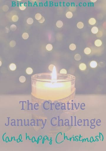 The #CreativeJanuary Challenge starts on 8th January and lasts for two weeks, with a different creative prompt everyday. Click through to find out more and sign up!