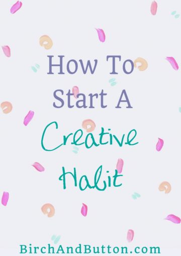 If you've decided to devote more time to your creativity this year, and more specifically to building a daily creative habit, this blog post will help! Start the year as you mean to go on and build a strong habit that you won't forget about or abandon in a week's time. Click through to read more.
