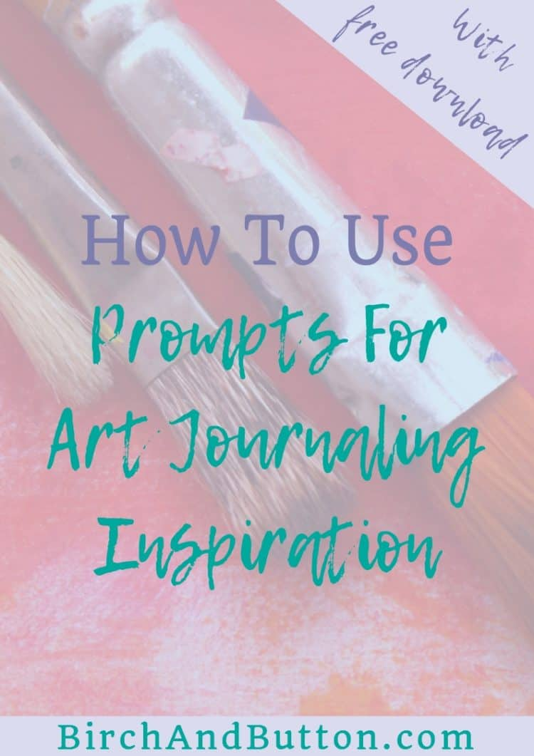 If you find yourself struggling with inspiration and getting started with your art journaling, you might find that using prompts helps. In this blog post, I look at how we can use prompts for art journaling inspiration.
