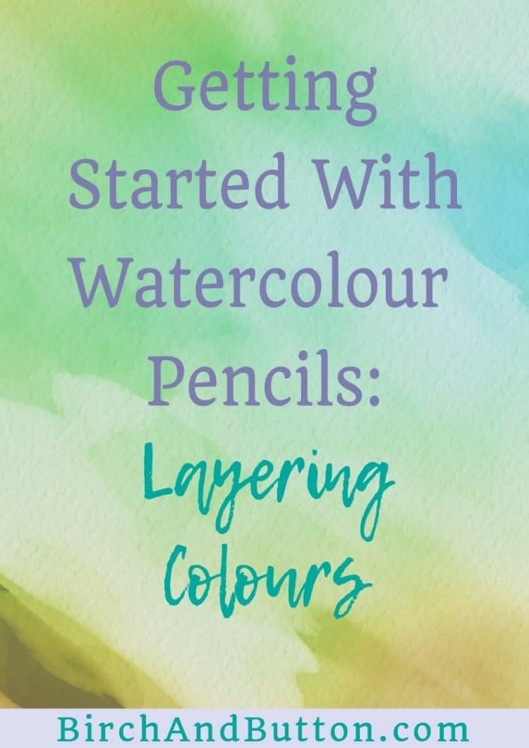 Layering watercolour pencils needn't be tricky. Let me show you the different effects you can achieve and take away the guesswork if you're just getting started with watercolour pencils. Click through for more information.