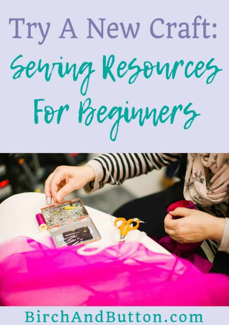 If you've ever wanted to learn more about sewing but not known where to start, I'm hoping this guide will help. I've put together a blog post full of sewing resources for beginners. Click through to read more.