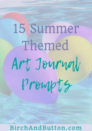 If you're looking for a little inspiration for your summertime creativity, look no further. Check out these 15 summer art journal prompts and get creating!